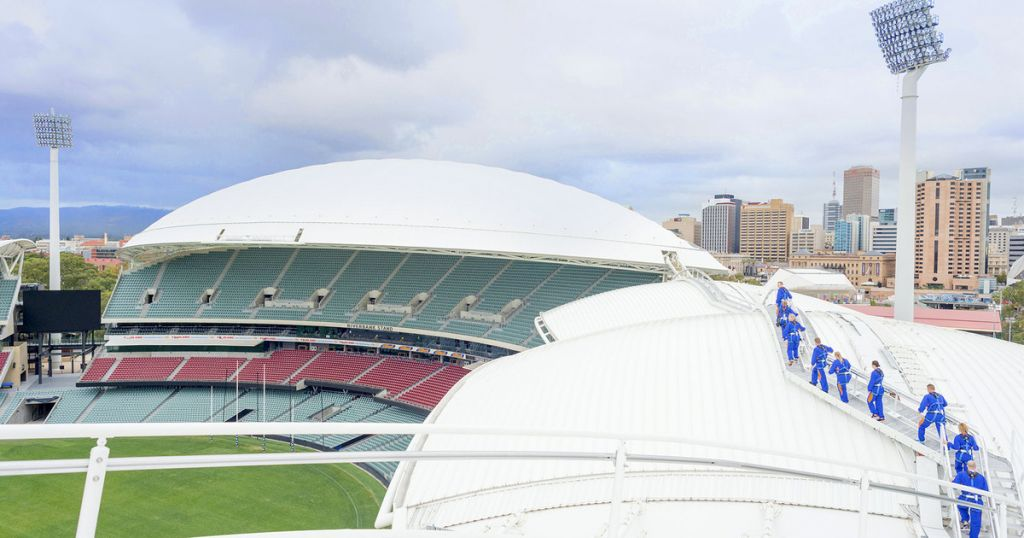 Adelaide Oval 2-Hour Rooftop Climb Experience