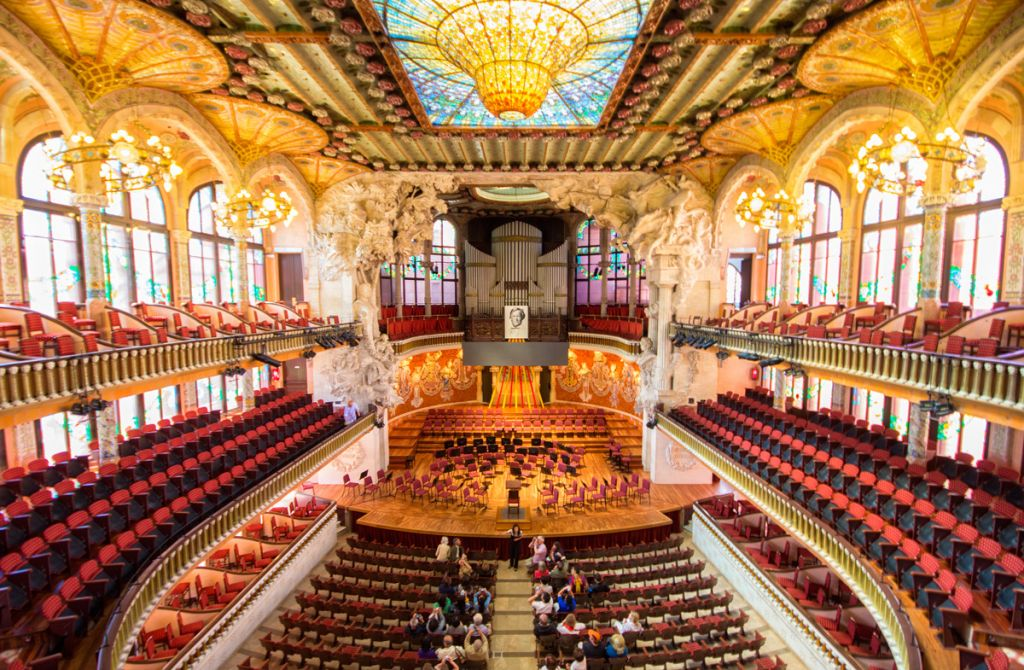 Palau de la Musica Guided Tour