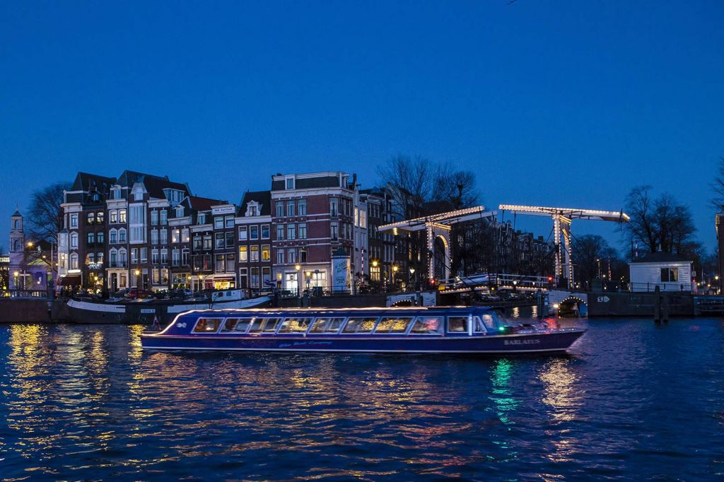 Amsterdam: 1.5-Hour Evening Canal Cruise