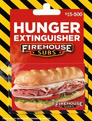 Firehouse Subs Gift Card by Firehouse Subs