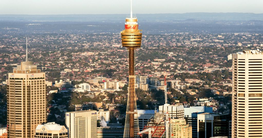 Sydney Tower Buffet Rotating Restaurant